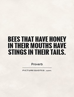 BEES THAT HAVE HONEY 