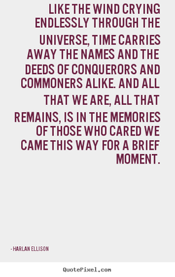 LIKE THE WIND CRYING 