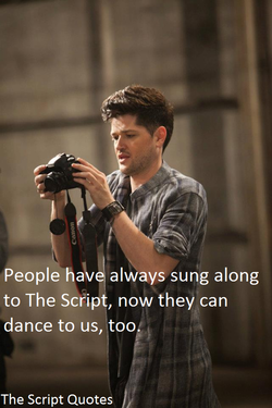 People hak' always sung along 
