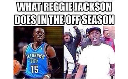 WHAT REGGIE JACKSON 