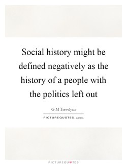 Social history might be 