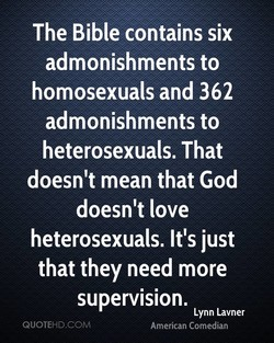 The Bible contains six 