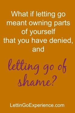 What if letting go 