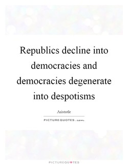 Republics decline into 