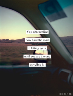You dont realize 