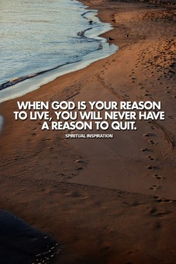 WHEN GOD IS YOUR REASON 