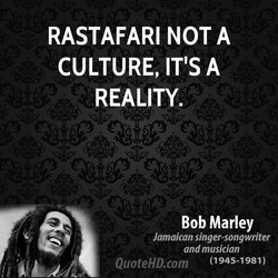 RASTAFARI NOT A 