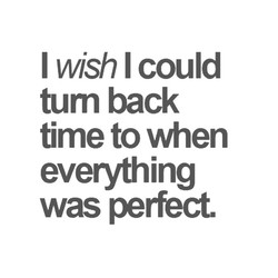 I wish I could 