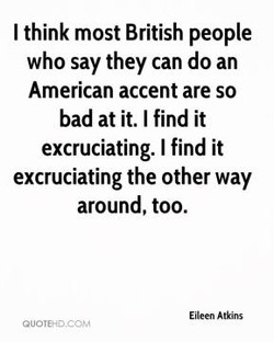 I think most British people 