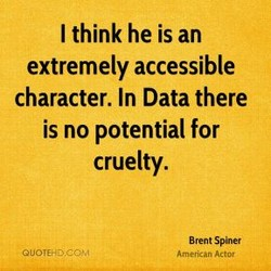 I think he is an 