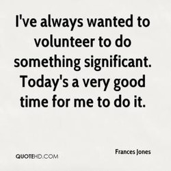 I've always wanted to 