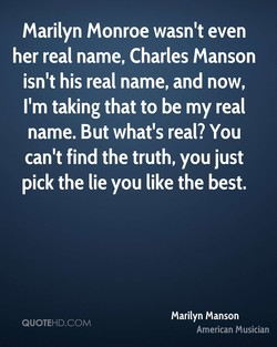 Marilyn Monroe wasn't even 