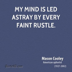 MY MIND IS LED 