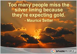 Too many people miss the 