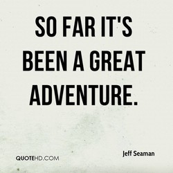 SO FAR IT'S 