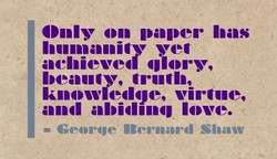Only on paper has 