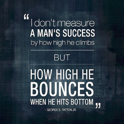 I don t measure 