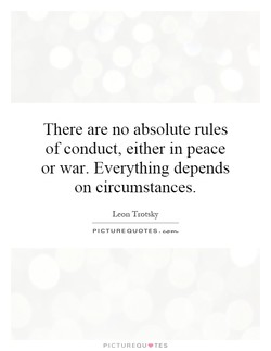 There are no absolute rules 