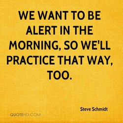 WE WANT TO BE 