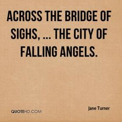 ACROSS THE BRIDGE OF 