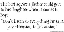 The best advice a father Could give 