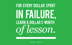 FOR EVERY DOLLAR SPENT 