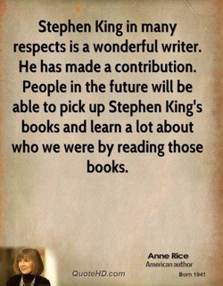 Stephen King in many 