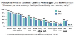Primary Care Physicians Say Chronic Conditions Are the Biggest Local Health Challenges