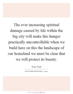 The ever increasing spiritual 