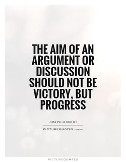 THE AIM OF AN 