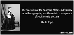 The secession of the Southern States, individually 