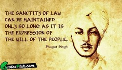 THE SANCTITY OF LAW 