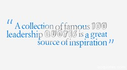 A collection of famous 