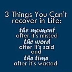 3 Things You Can't 