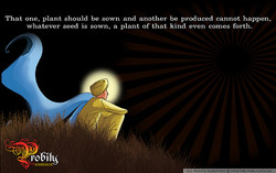 one, Should be Sown and be produced cannot happen, 