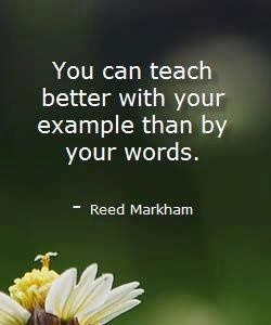 You can teach 