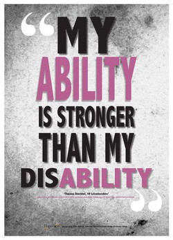 IS STRONGER THAN MY DISABILITY 49