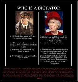 WHO IS A DICTATOR 
