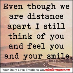 Even though we 