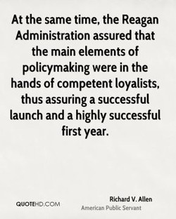 At the same time, the Reagan 