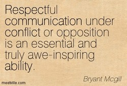 Respectful 