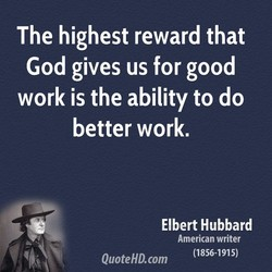 The highest reward that 