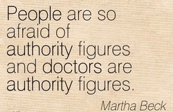 People are so 
