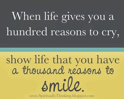 When life gives you a 