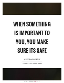 WHEN SOMETHING 