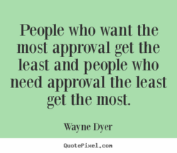 People who want the 
