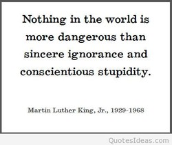 Nothing in the world is 