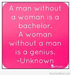 A man without 