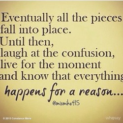Eventually all the pieces 