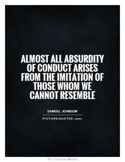 ALMOST ALL ABSURDITY 